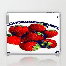 3D strawberries Laptop & iPad Skin