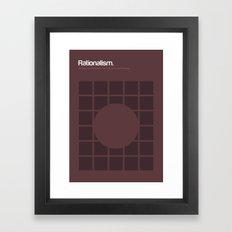 Rationalism Framed Art Print