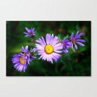 Purple Floral Canvas Print