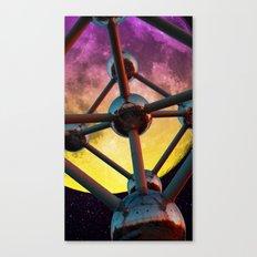 Atomium in space Canvas Print
