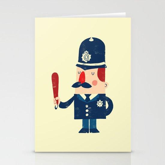'Ello, 'ello, 'ello! Stationery Card