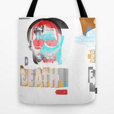 DEATH BECOMES U Tote Bag