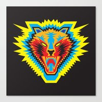 Canvas Print featuring Roar by HanYong