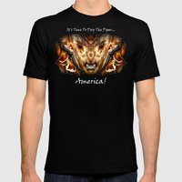 The Piper Mens Fitted Tee Black SMALL