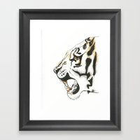 War Damn Framed Art Print