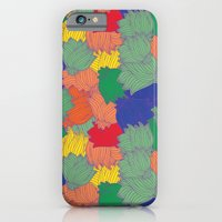 iPhone & iPod Case featuring Floral Chaos by MadTee