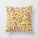 Dance Amber by Jacqueline Maldonado & Garima Dhawan Throw Pillow