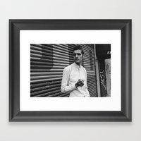 Summer In NYC Framed Art Print