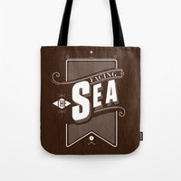 Facing The Sea Tote Bag
