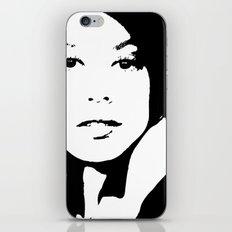 Black & White Beauty iPhone & iPod Skin