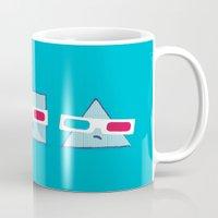 3D Shapes Mug