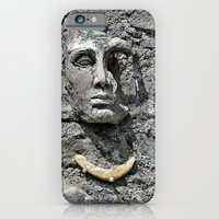 iPhone & iPod Case featuring Stone Face by Ethna Gillespie