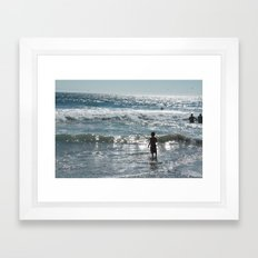 Little Boy Innocence  Framed Art Print
