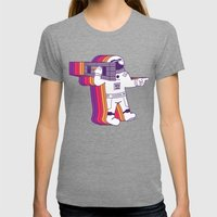 Theres a Tars, Man Womens Fitted Tee Tri-Grey SMALL
