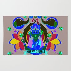 Goddess Lakshmi from India Rug
