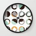 POINTS OF CONTACT Wall Clock