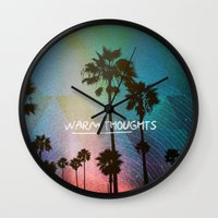 Warm Thoughts Wall Clock