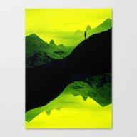 Vibrant Wasteland Canvas Print