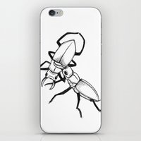 Stag War iPhone & iPod Skin