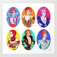 Bowie 6 Art Print