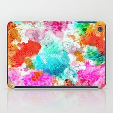 Koi Pond, Water Lilly iPad Case