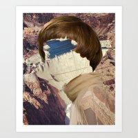 Haircut 7 Art Print