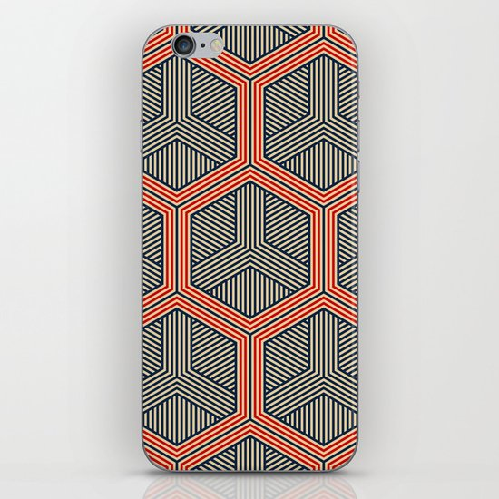 Hexagon No. 1 iPhone & iPod Skin