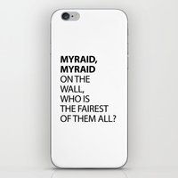 MYRAID, MYRAID  ON THE W… iPhone & iPod Skin