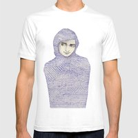 Abaya 01 Mens Fitted Tee White SMALL