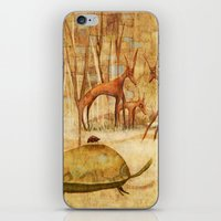 The Tortoise and the Beetle iPhone & iPod Skin