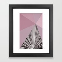 Geometric Nature ~ No 1 Framed Art Print