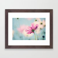 A beautiful morning Framed Art Print