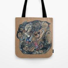 mind-face Tote Bag
