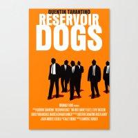 Reservoir Dogs Movie Poster Canvas Print