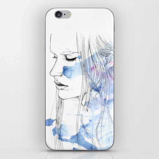 waves - to and fro iPhone & iPod Skin