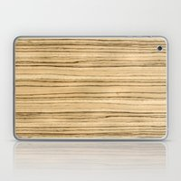 Zebrawood Laptop & iPad Skin