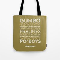 New Orleans — Deliciou… Tote Bag