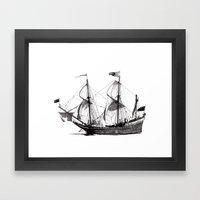 Duyfken Framed Art Print