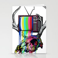 COLORS TV Stationery Cards