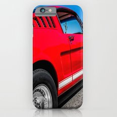 1965 Red Fastback Ford Mustang Muscle Car Slim Case iPhone 6s