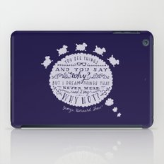 Why Not? iPad Case