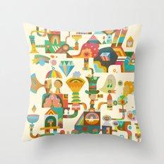 The Chipper Widget Throw Pillow
