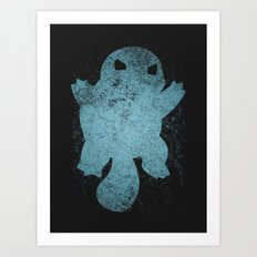 Squirtle Art Print