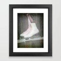 Tonight My Heart Is Cold Framed Art Print