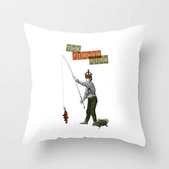 The fisher king Throw Pillow