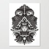 Hard Gore Canvas Print