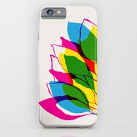 iPhone & iPod Case featuring Blossom CMYK by Garima Dhawan