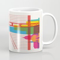 Shapes Of San Francisco.… Mug