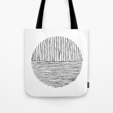 Circle : Vertical / Horizontal Tote Bag
