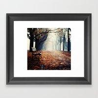 Warm Spot Framed Art Print